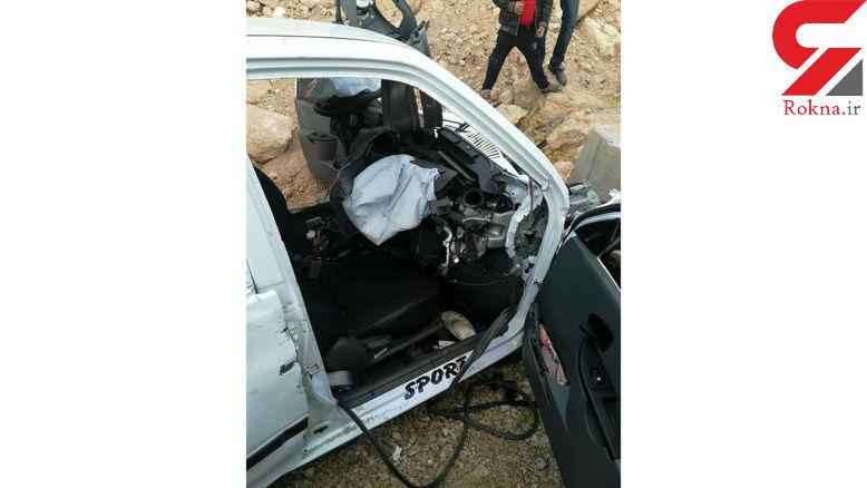 3 کشته در تصادف هولناک زنجان +عکس