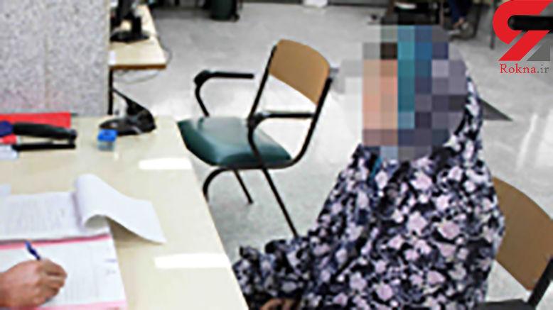 شمارش معکوس برای اعدام زن صیغه ای در زندان کرج + عکس