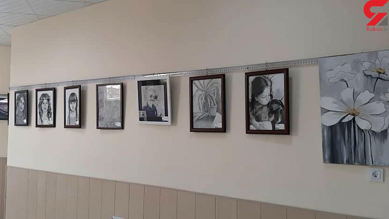 نمایشگاه نقاشی در آباده