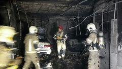 نجات 27 نفر از ساکنان مجتمع مسکونی از میان دود و آتش