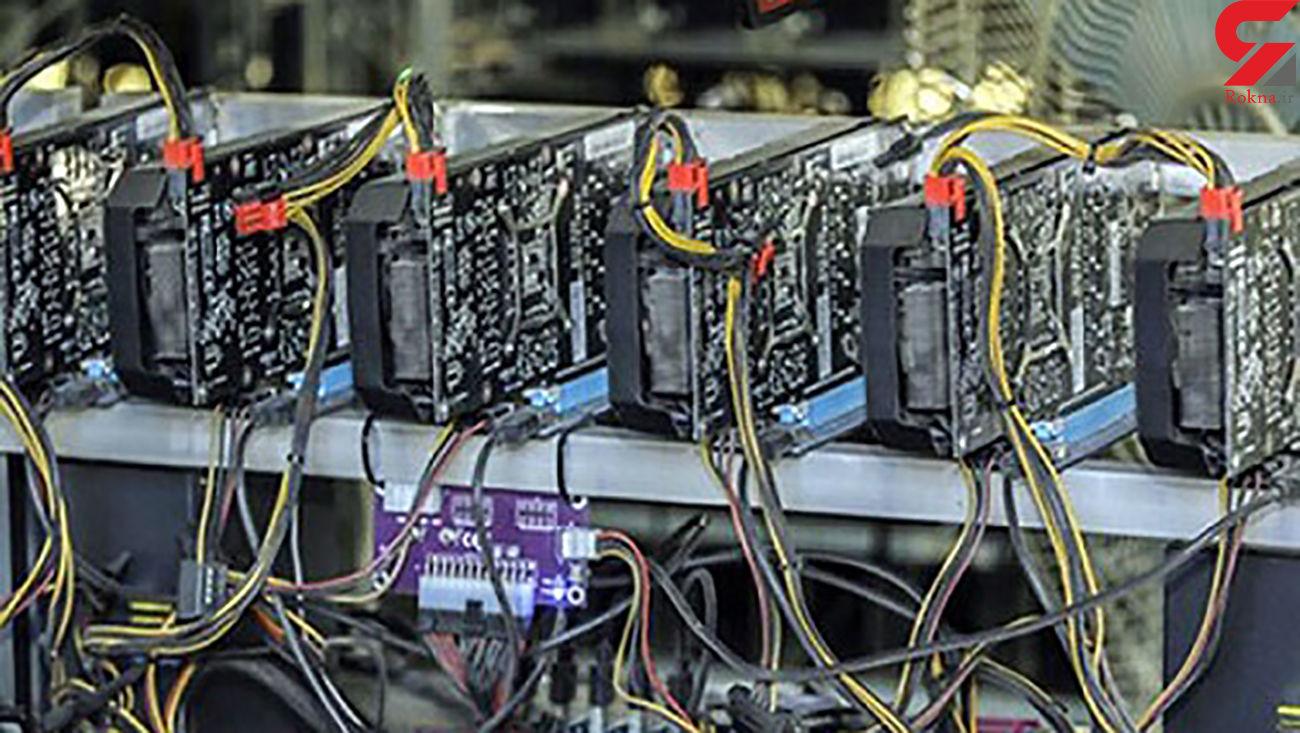 کشف 64 دستگاه تولیدکننده ارز دیجیتال غیرمجاز در شهرستان پارسیان