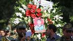تشییع پیکر شهید حمله تروریستی در سنندج +عکس