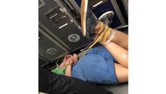اقدام شرم آور مرد مست در هواپیما+عکس