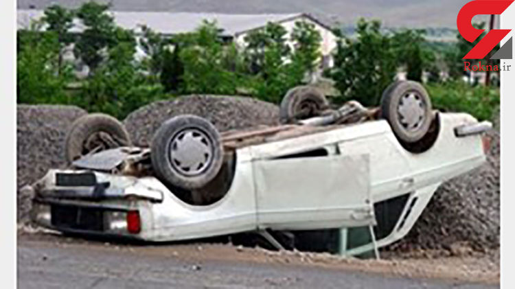 یک کشته 4 زخمی در سقوط پیکان از پل