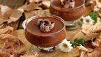 طرز تهیه یک دسر فنجانی شکلاتی با ترکیبی از میوه ها