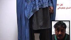 این مرد لباس زنانه پوشید تا آدم ربایی کند! + عکس