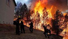 ویلای کیم کارداشیان در خطر آتش سوزی کالیفرنیا! /او آتش نشان خصوصی استخدام کرد
