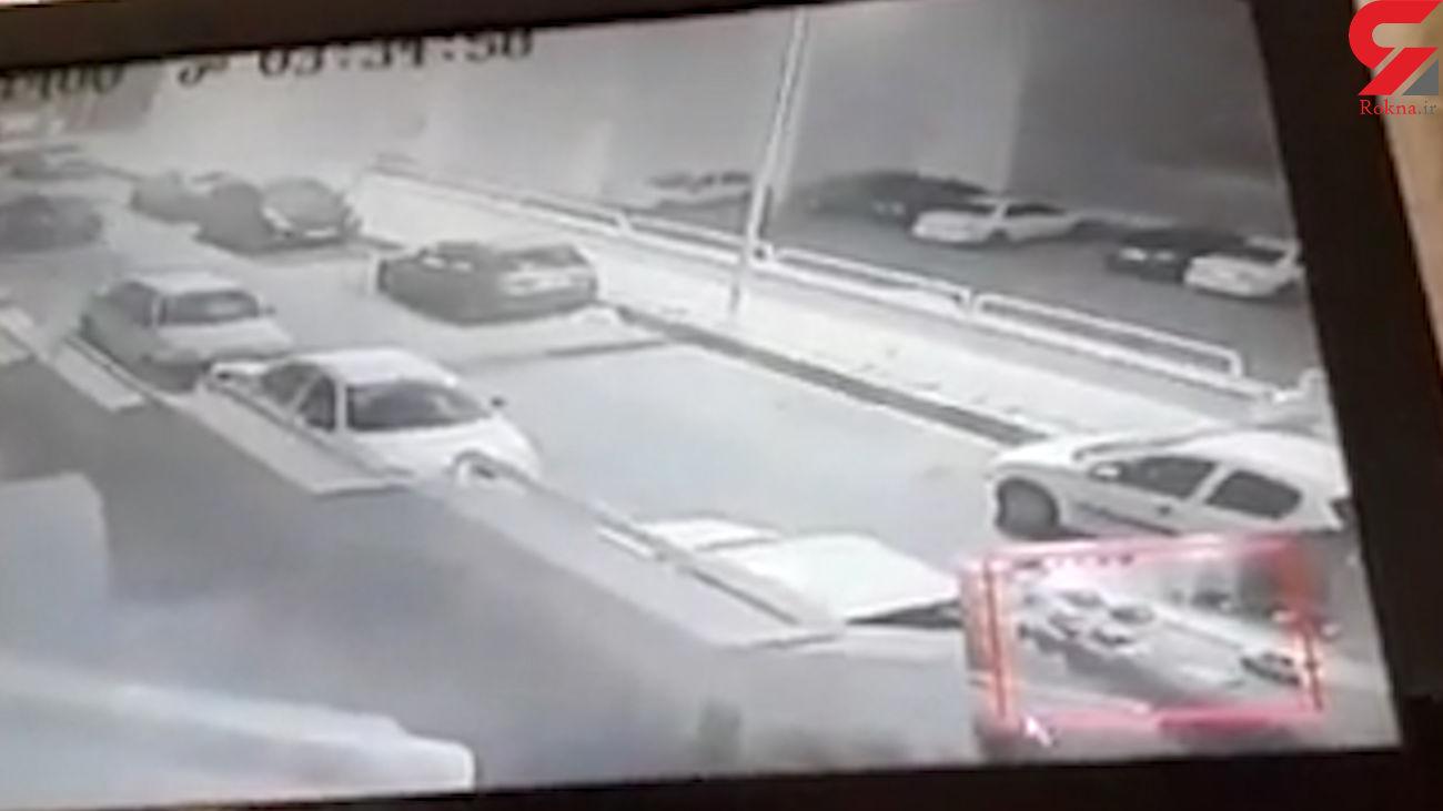 فیلم لحظه انتقام عجیب شرور چپ دست از دوست دختر تهرانی اش