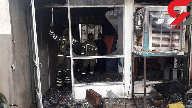 مهار آتش در منزل مسکونی