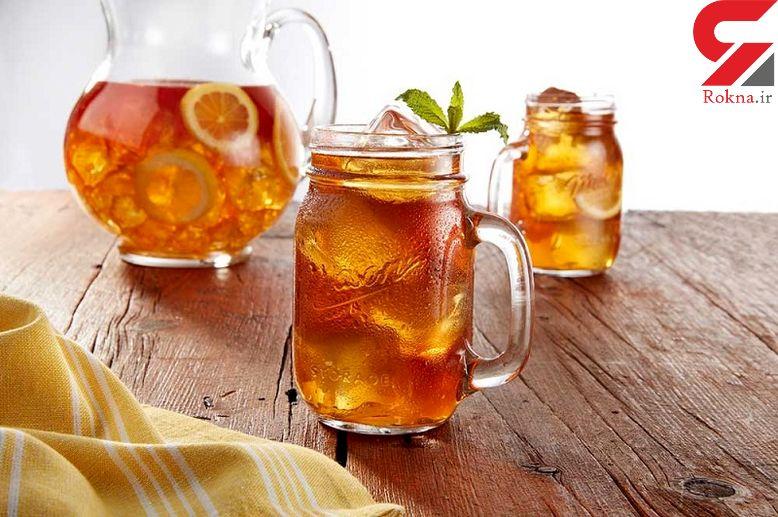 ضررهای نوشیدن چای سرد