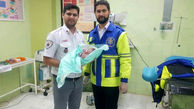 تولد نوزاد 99/9/9 در آمبولانس / در گمیشان رخ داد + عکس