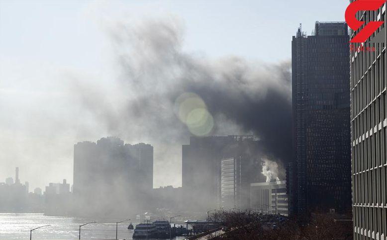 آتش سوزی در مرکز پزشکی دانشگاه نیویورک