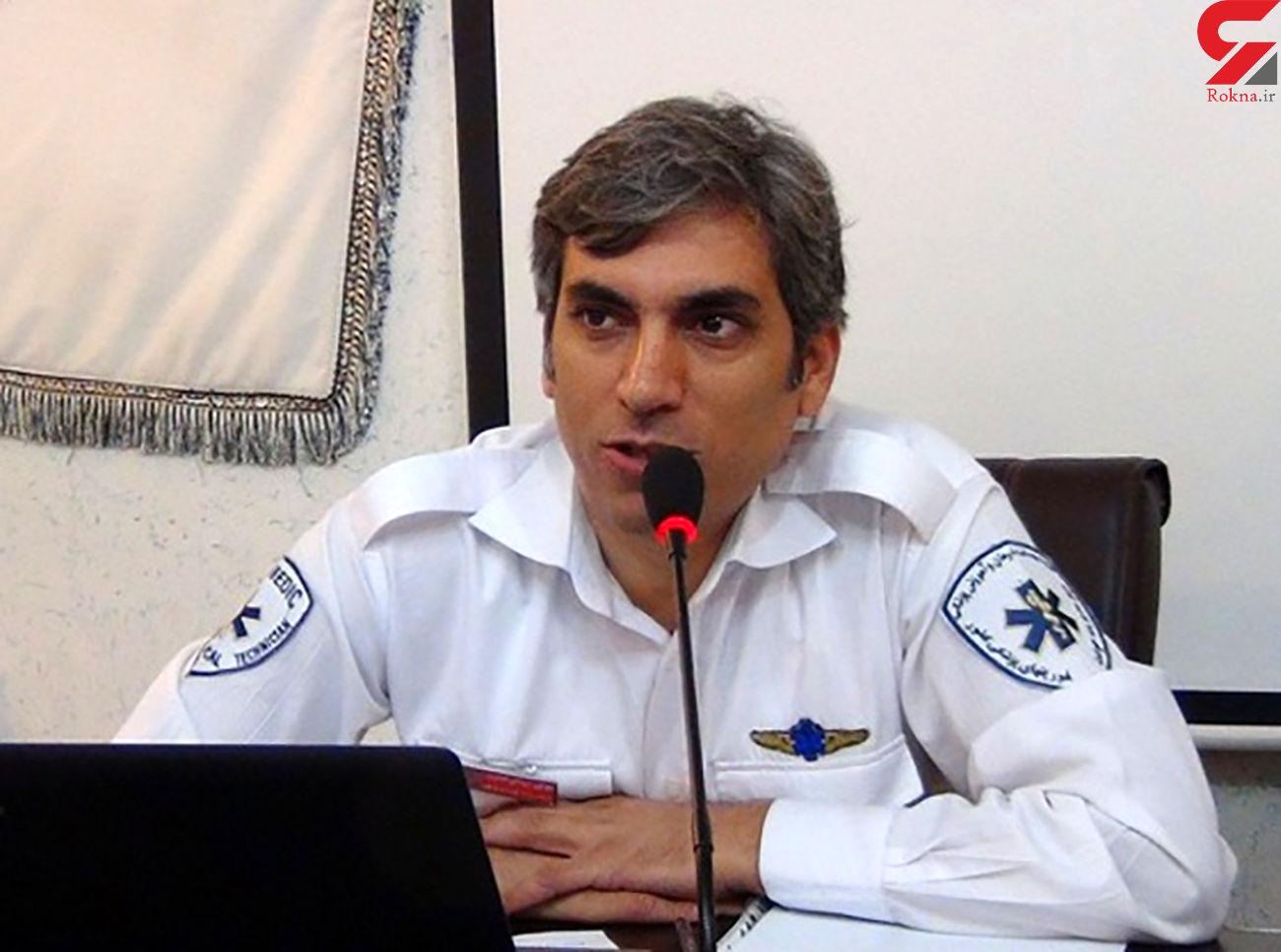 9 مصدوم در حادثه خونین جاده مشهد