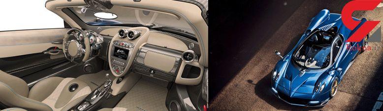 محصول شگفت انگیز و جدید برند پاگانی رودستر با وزن کمتر و بدون سقف +تصاویر