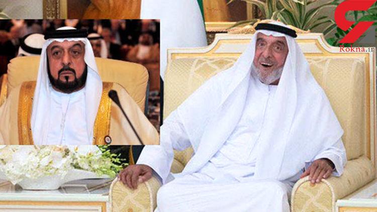 چهره تکیده رئیس امارات پس از غیبت یک ساله +عکس