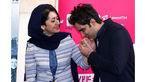 بوسه مجری معروف تلویزیون بر دستان همسرش+عکس