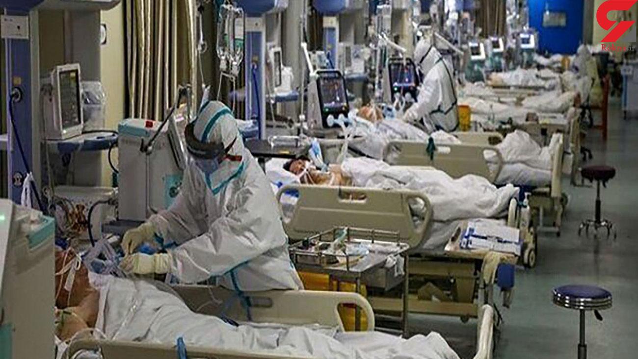 بستری بیماران کرونایی یک ماهه تا 80 ساله در یزد