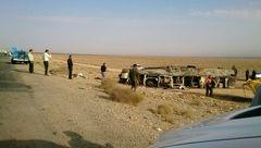 هویت هیچ جسدی از حادثه اتوبوس آزاد راه کاشان-نطنز شناسایی نشده است
