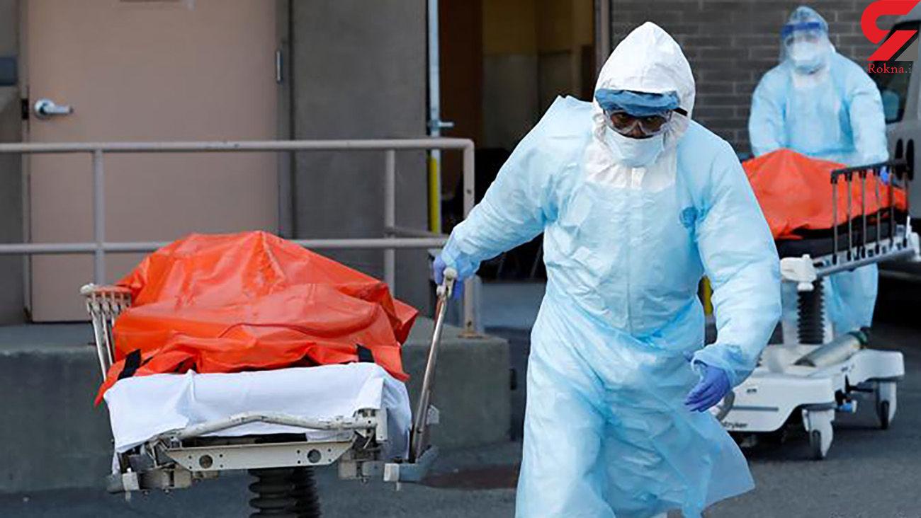 مرگ 16 هزار آمریکایی در یک هفته بر اثر کرونا