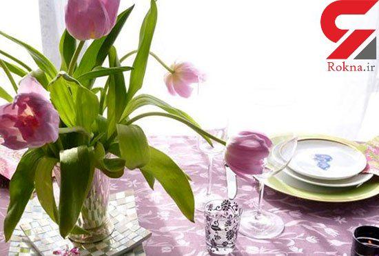ایده هایی برای طراوت خانه در بهار +عکس