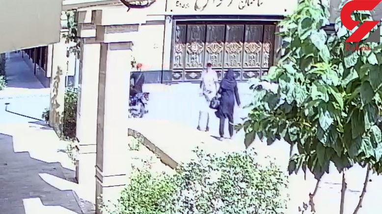 لحظه حمله خشن زورگیران تهرانی به یک زن جوان در تهرانسر+فیلم و عکس
