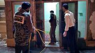 ضدعفونی کردن معابر عمومی در «مود» + فیلم