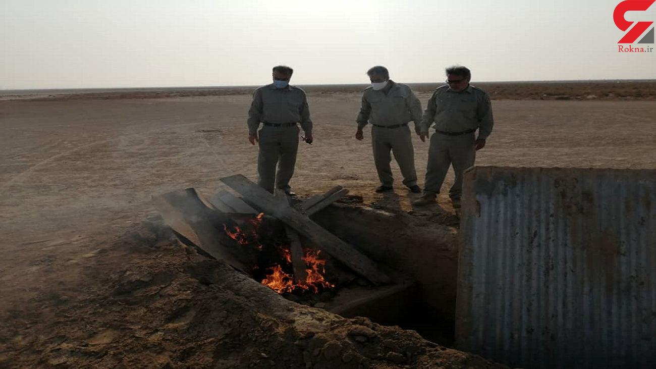 تخریب 22 کومه شکارچیان غیرمجاز کبک در خلخال