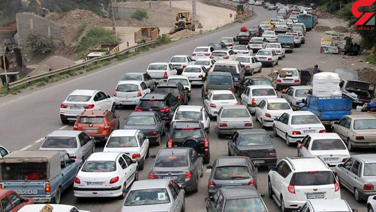 جاده چالوس در تعطیلات عید فطر و آخر هفته  یکطرفه می شود + ساعت شروع یکطرفه بودن