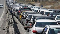 ترافیک در آزادراه تهران-کرج سنگین است/ بارش برف و باران در استانهای آذربایجان شرقی و غربی و خراسان رضوی