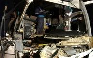 تصادف مرگبار اتوبوس و تریلر در کاشان 25 مصدوم و یک کشته بر جای گذاشت
