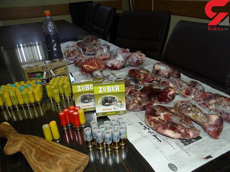 یک سال و نیم حبس برای شکارچی  غیر مجاز در نطنز