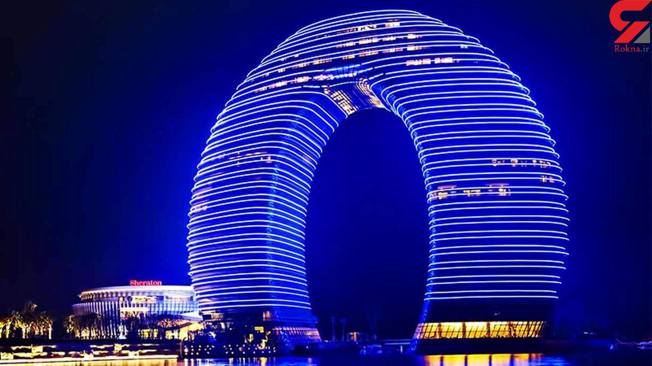 گردترین هتل جهان کجاست؟ / اینجا همه چیز گرد است  + فیلم