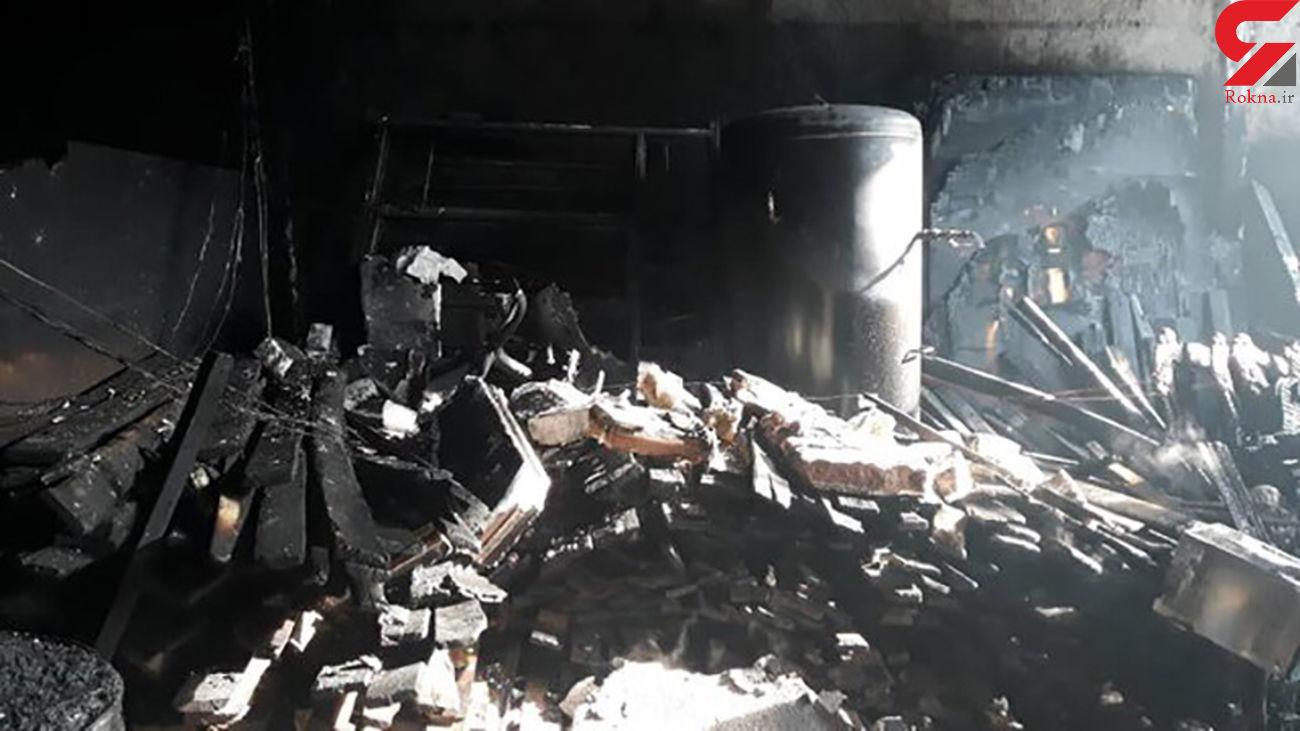 آتشسوزی مرگبار یک مجتمع مسکونی در قم