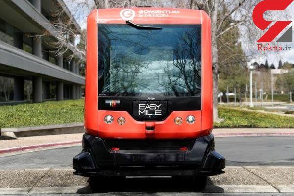 راه اندازی اتوبوس بدون راننده در کالیفرنیا