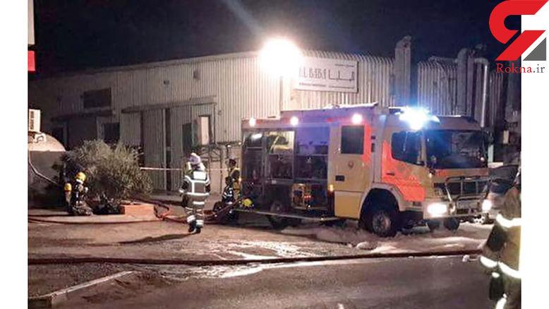 مرگ 3 کارگر خارجی در آتش سوزی در شارجه