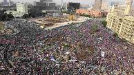 افراد ناشناس میدان التحریر بغداد را به خاک و خون کشیدند