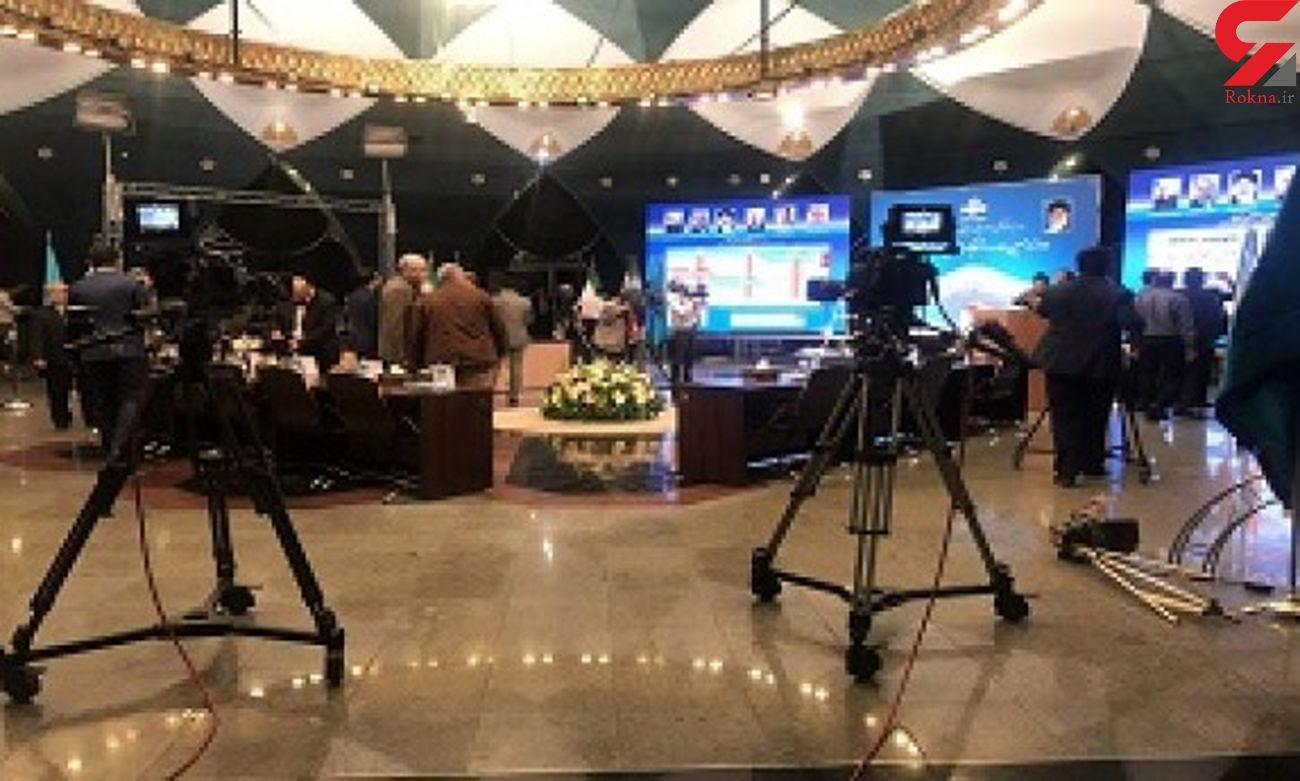 لحظه به لحظه با مراسم قرعه کشی برنامه نامزدهای انتخابات ریاست جمهوری در صدا و سیما