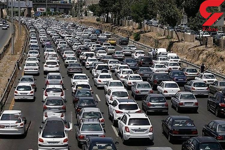 وضعیت جوی و ترافیک راه های کشور
