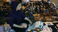 تلخ و باورنکردنی/دستفروشی رکورد دار دوچرخه سواری زنان ایران !+عکس