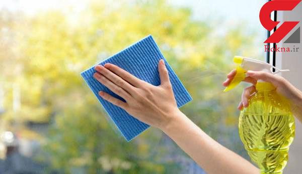 طرز تهیه شیشه پاک کن طبیعی در خانه/بدون هزینه کمک به اقتصاد خانواده کنید