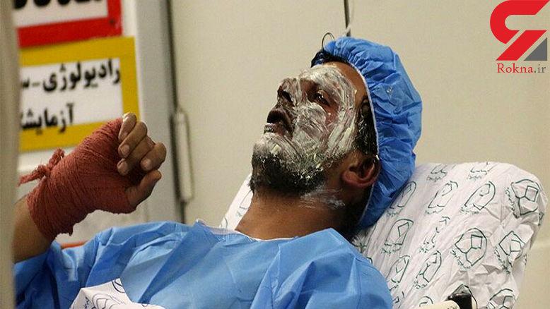 تعداد مصدومان چهارشنبه آخر سال در مشهد به ۱۱ نفر رسید