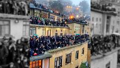 عکس / تصویر دیدنی عزاداری مردم در ماسوله
