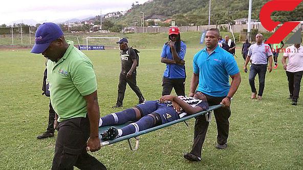 صاعقه دو بازیکن تیم فوتبال جامائیکا را نابینا کرد+عکس