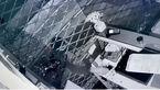فیلم لحظه سرقت موبایل/سارقان در تاریکی شب شیشه های را شکستند