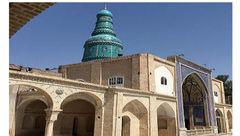 یک امام زاده با گنبد عجیب + عکس