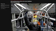 عکس روز گاردین / کرونا و متروی تهران