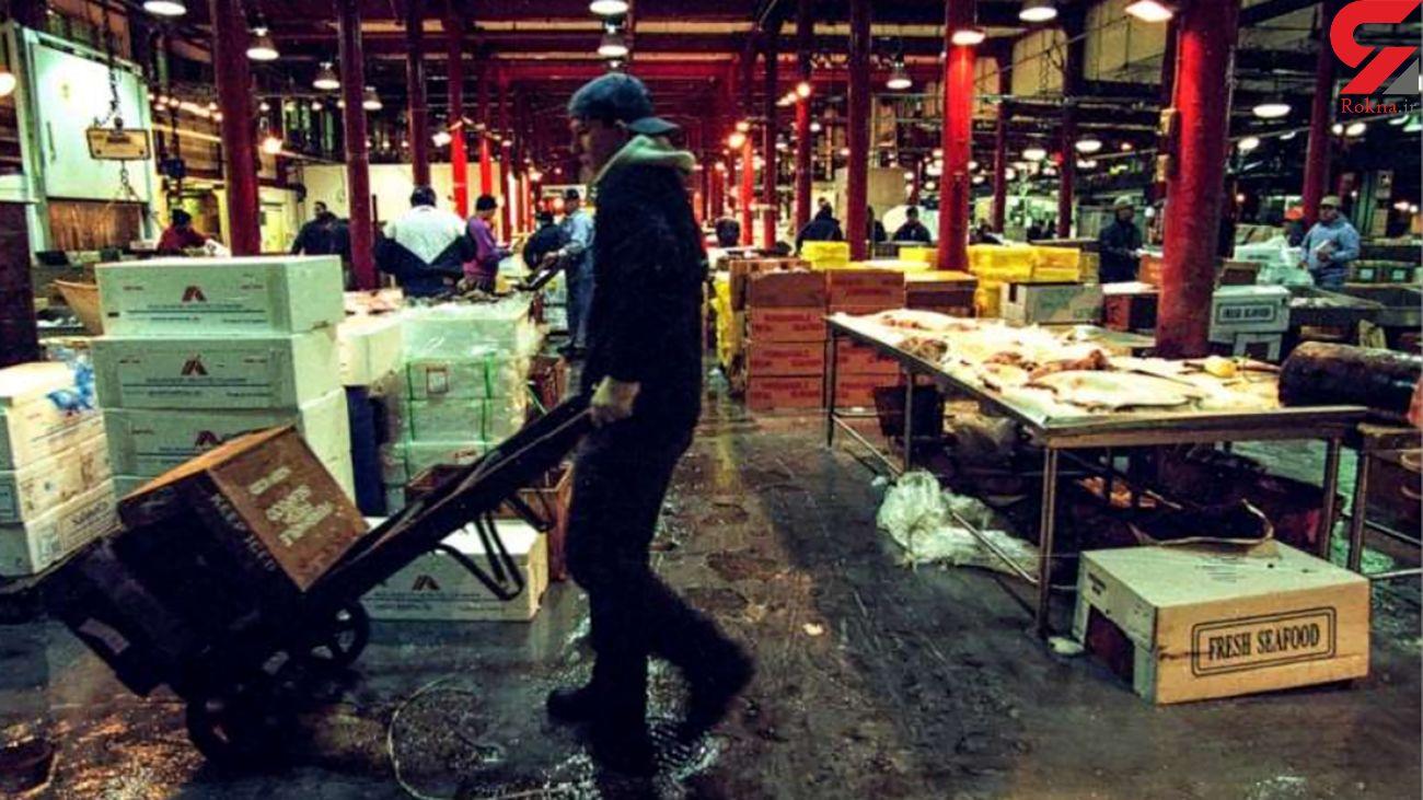 کشف جسد پسر 14 ساله در انبار بازار ماهی فروش ها + عکس