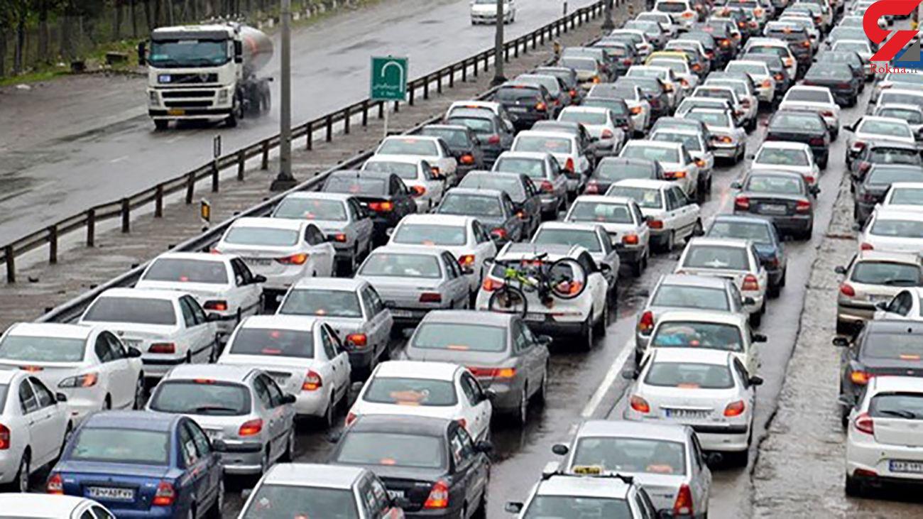 افزایش ترددهای جاده ای کشور