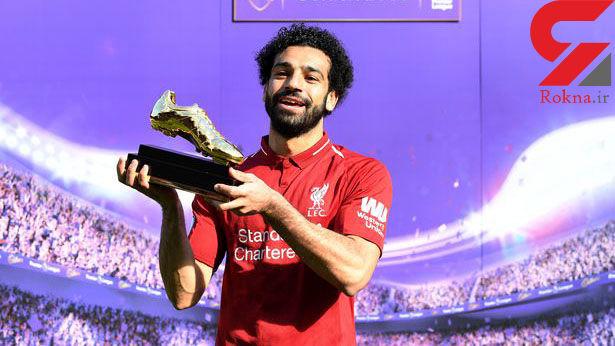 عکسهای خانوادگی محمد صلاح ستاره لیورپول در مراسم بهترین بازیکن+ عکس