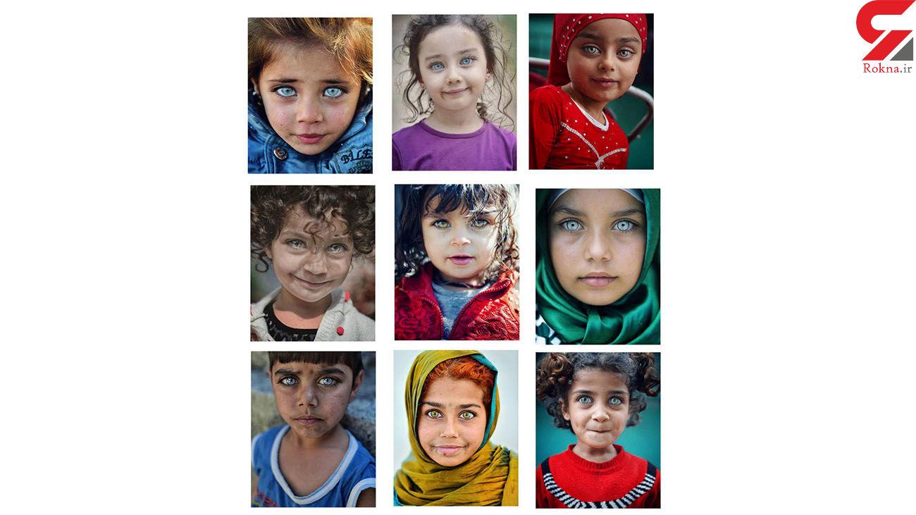 زیباترین چشمهای دنیا از نگاه دوربین + عکس